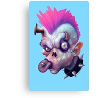 ZED HEADZ - Ear Worm Canvas Print