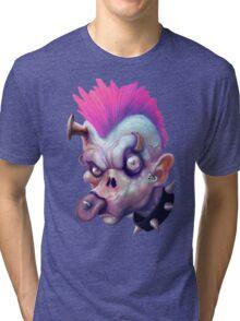 ZED HEADZ - Ear Worm Tri-blend T-Shirt