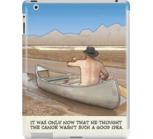 Poster 2016 Canoe Baxter square iPad Case/Skin