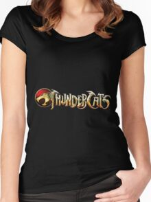 Thundercats Logo Women's Fitted Scoop T-Shirt
