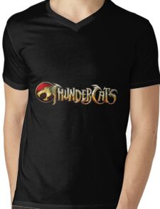 Thundercats Logo Mens V-Neck T-Shirt