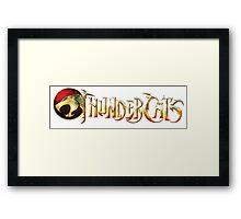 Thundercats Logo Framed Print