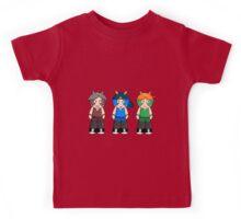 Bunny Rowdyruff Boy Team! Kids Tee