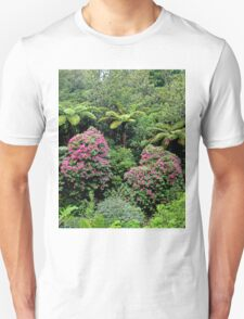 Wild Rhododendrons New Zealand Unisex T-Shirt