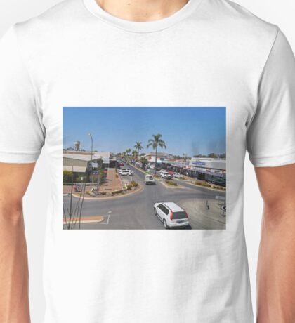 Marshall Street, Goondiwindi, Queensland, Australia Unisex T-Shirt