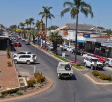 Marshall Street, Goondiwindi, Queensland, Australia Sticker