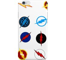 Flash Symbols iPhone Case/Skin