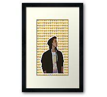 Matthew Espinosa Emoji Design Framed Print