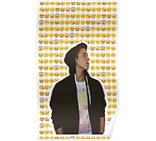 Matthew Espinosa Emoji Design Poster