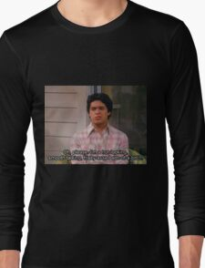 fez quote  Long Sleeve T-Shirt