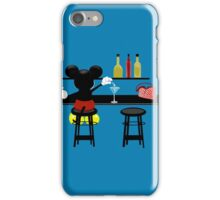 Slipping A Mickey iPhone Case/Skin