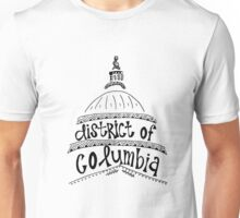 District of Columbia Zentangle Unisex T-Shirt