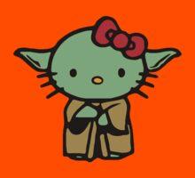 Hello Kitty Yoda Star Wars Kids Tee
