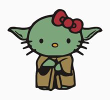 Hello Kitty Yoda Star Wars Kids Tee