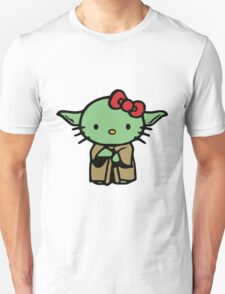 Hello Kitty Yoda Star Wars T-Shirt