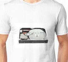 open hard disc Unisex T-Shirt
