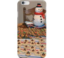 Christmas Message iPhone Case/Skin