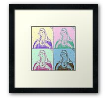 Mary Pop Framed Print