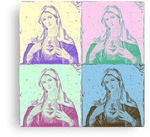 Mary Pop Canvas Print
