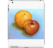 Still Life - Orange & Apple iPad Case/Skin