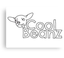 Cool Beanz Canvas Print