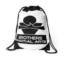 Brothers Martial Arts Drawstring Bag