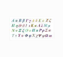 Greek Alphabet White 1 Unisex T-Shirt