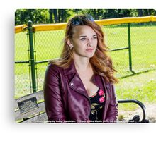 Lifestyle with Stacey Canvas Print