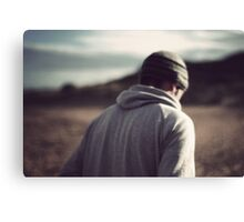 I watch you fade into a memory Canvas Print