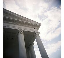 Columns and sky Photographic Print