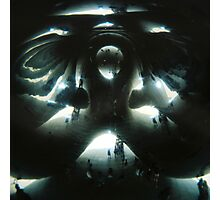 Inside The Bean Photographic Print