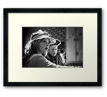 Card sharks Framed Print