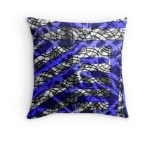 Painted Element of Peace Throw Pillow