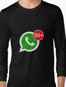 WhatsApp Messages Long Sleeve T-Shirt