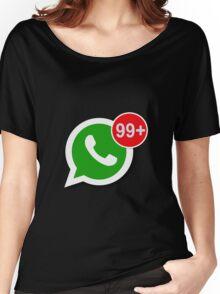 WhatsApp Messages Women's Relaxed Fit T-Shirt