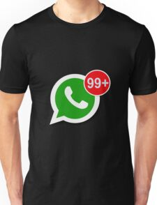 WhatsApp Messages Unisex T-Shirt