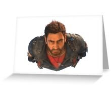 Just Cause 3 Rico Greeting Card
