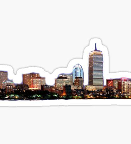 Boston Skyline Sticker