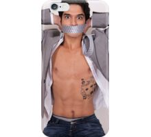 Cute Tyler Posey shirtless iPhone Case/Skin