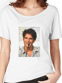 Cute Tyler Posey smile Women's Relaxed Fit T-Shirt
