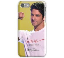 Tyler Posey + arm muscles iPhone Case/Skin