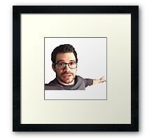 Tai Lopez Here in My Garage Framed Print