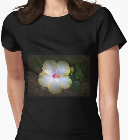 Hibiscus #4 Womens Fitted T-Shirt