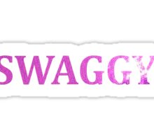 Swaggy Sticker