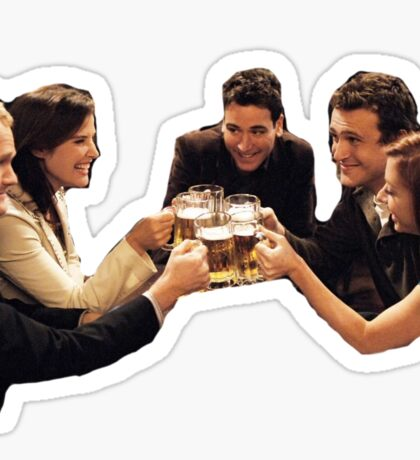 How I Met Your Mother Sticker