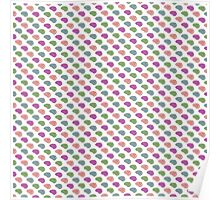 Candy Brains Pattern Poster