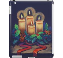 Merry Christmas - advent wreath is for you! iPad Case/Skin