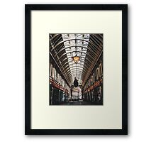 Old Arcade Framed Print