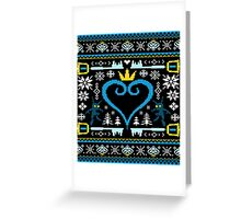 KINGDOM HEARTS CHRISTMAS Greeting Card
