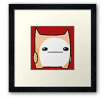 Battleblock Cat Framed Print